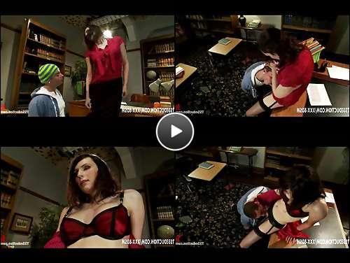 tgirl lingerie video